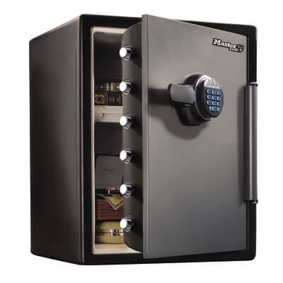 Masterlock Fire & Water Resistant Safe - 1 hour - 490 x 472 x 605mm - 56 Litre )