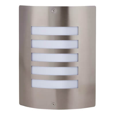 60W Wall Light - Stainless Steel)