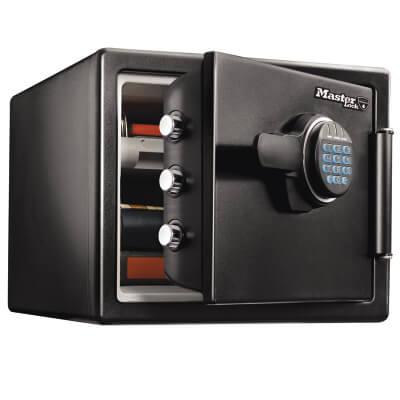 Masterlock Fire & Water Resistant Safe - 1 hour - 491 x 415 x 348mm - 22 Litre)
