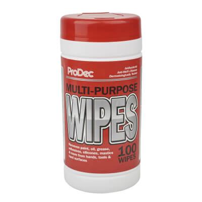 ProDec Multi-purpose Wipes - 100 Tub