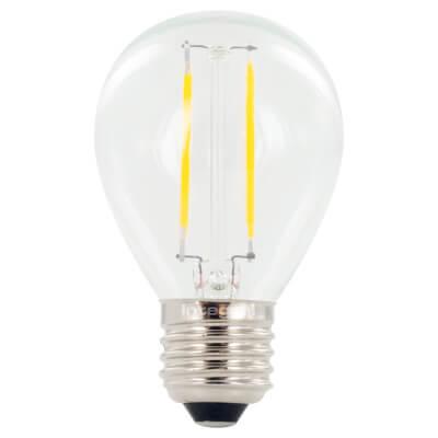 Integral LED 2W Mini Globe Filament Lamp - E27 - 2700K )