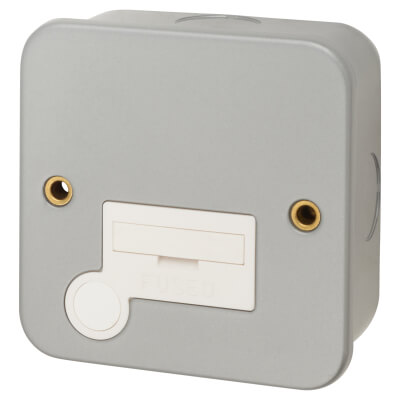 13A Metal Clad Unswitched Spur - Grey)