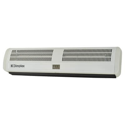 Dimplex 6KW Warm Air Curtain - White)