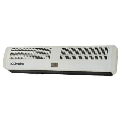 Dimplex 6W Warm Air Curtain - White)