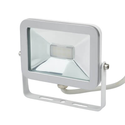 Brackenheath 10W LED ispot Floodlight - White)