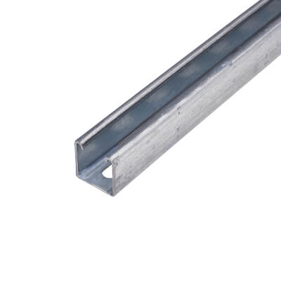 Pre-galvanised Slotted Channel - Heavy Gauge - 41 x 41 x 3000mm)