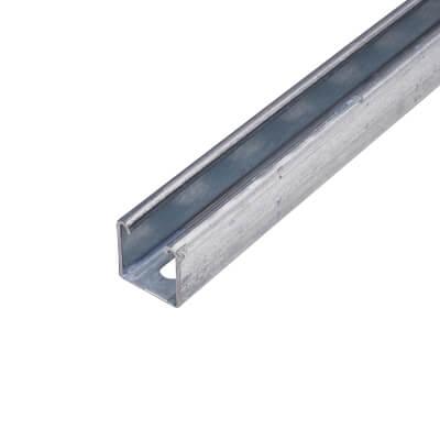 Slotted Unistrut - Light Gauge - 41 x 41 x 3000mm)
