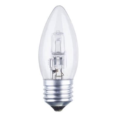 42W ES Halogen Candle Lamp - Warm White)