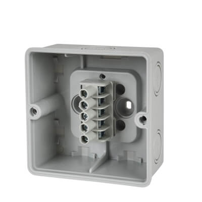 Hensel 3.5 Inch IP65 Connection Box - Grey)