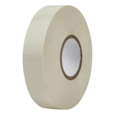 Directa 19mm Roll PVC Tape - 33m - White)