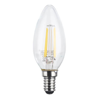 4W SES LED Filament Candle Lamp)