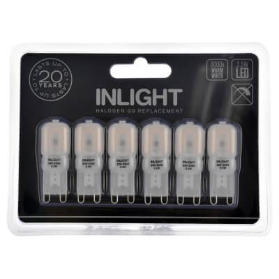 Forum InLight G9 Capsule LED - Warm White - 6 Pack)
