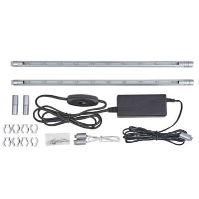 LED Striplight Kit - 300mm - Blue)