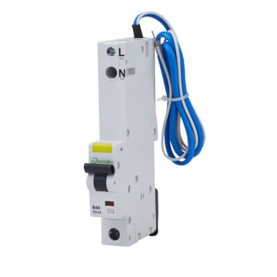 Danson 40A 30mA Single Pole RCBO - Type B)