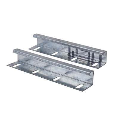 Trench Medium Duty Cable Tray Coupler - Galvanised