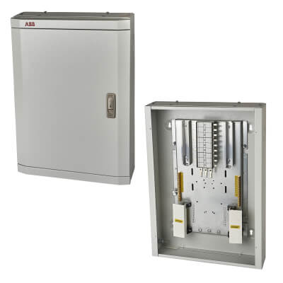ABB 6 Way 3 Phase TPN Distribution Board)