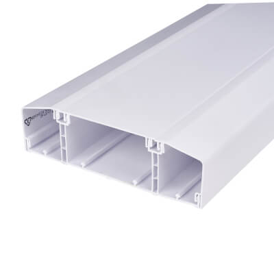 Marco Dado Chamfered Trunking - 50mm x 170mm x 3m