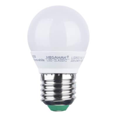 3.5W ES LED Golf Ball Lamp - Warm White)