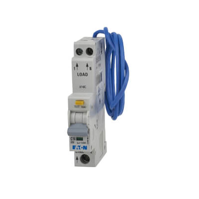 Eaton MEM 16A 30mA 3 Phase Single Pole RCBO - Type C)