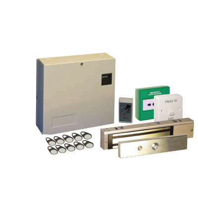 Standalone Access Control Kit with Proximity Controller, Reader and Electro Magnetic Lock)
