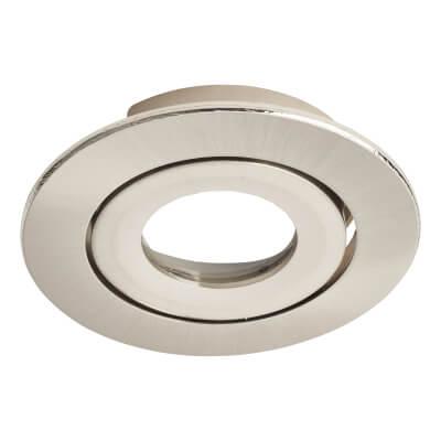 Daxlite Round Bezel for Daxlite Tilt Downlights - Satin Chrome)
