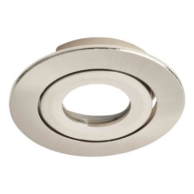 Daxlite Round Bezel for Daxlite Tilt Downlight - Satin Chrome)
