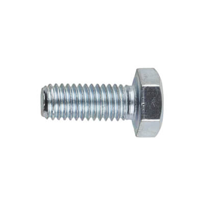 Hexagon Bolt - M8 x 20mm - Zinc Plated - Pack 10)