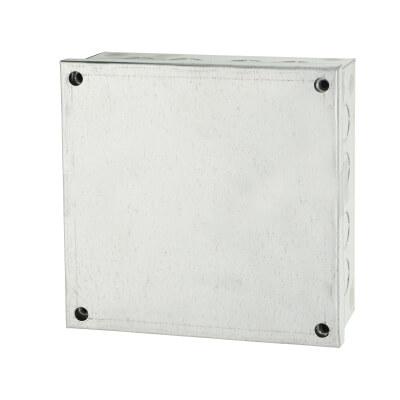 Adaptable Back Box - 6 x 6 x 2 Inch - Galvanised)