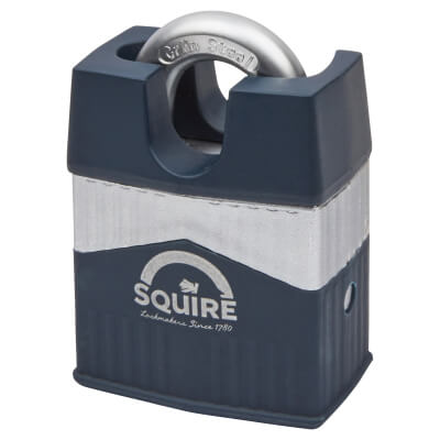 Squire Warrior Closed Shackle Padlock - 55mm - Keyed to Differ)