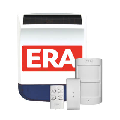 ERA Valiant Wireless Solar Siren Alarm Kit )