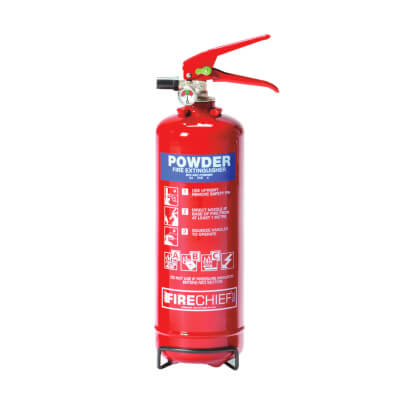 Dry Powder Fire Extinguisher - 2 Litre)