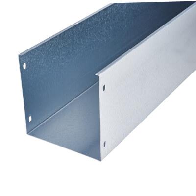 Steel Trunking - 150mm x 150mm x 3m - Galvanised)