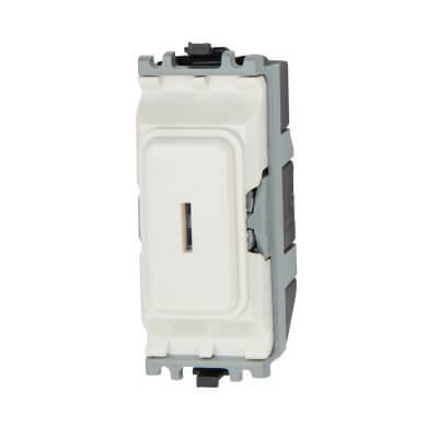 MK 20A Intermediate Key Switch Module - White)