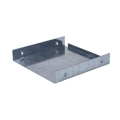 Stop End - 150 x 150mm - Galvanised 