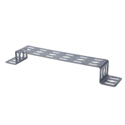 Trench Cable Tray Stand Off Bracket - Galvanised - 225mm