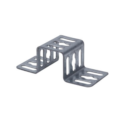 Trench Cable Tray Stand Off Bracket - Galvanised - 50mm