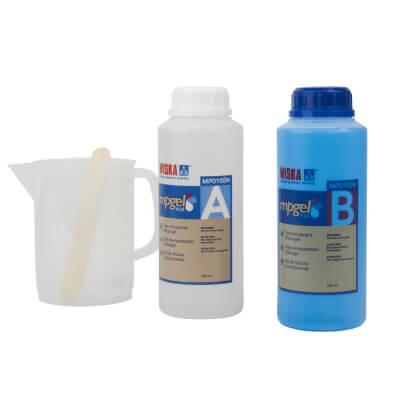 Gel Silicone Gel - 2 pack -  500ml)
