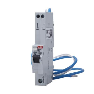 ABB 10A 30mA 10kA 1 Module 3 Phase RCBO - Type C)