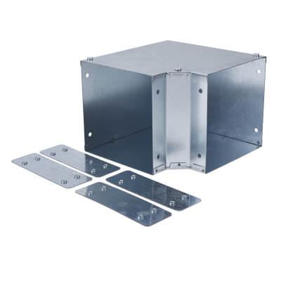 Top Lid Bend - 90° - 150 x 150mm - Galvanised)
