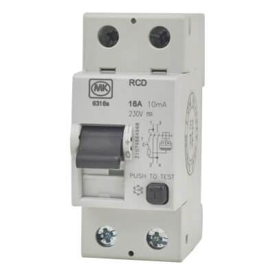 MK 16A 10mA 2 Module RCD)