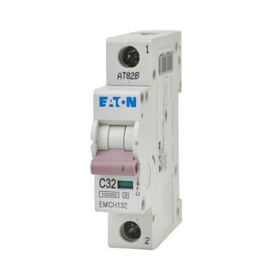 Eaton MEM 32A Single Pole 3 Phase MCB - Type C)