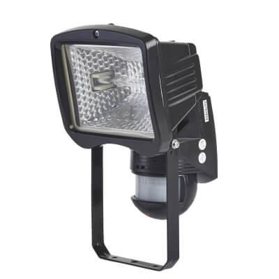 BEG Luxomat Halogen Floodlight 150W 140D - Black