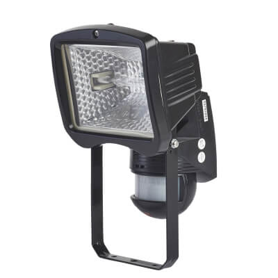 BEG Luxomat Halogen Floodlight 150W 140D - Black)