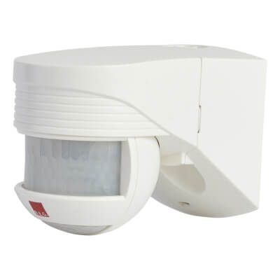 BEG Loxomat PIR Sensor - 140° Angle - White)