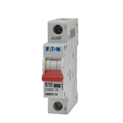 Eaton MEM 10A Single Pole 3 Phase MCB - Type B