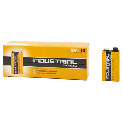 Duracell Procell Batteries - PP3 Type - Pack 10)