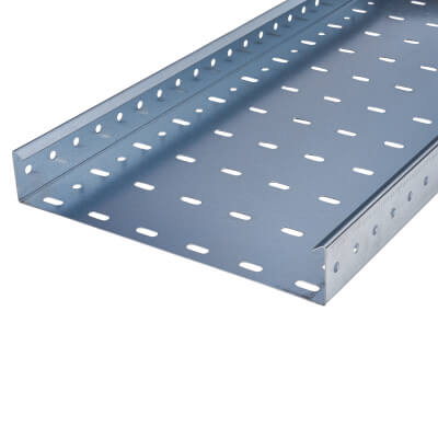 Trench Heavy Duty Cable Tray - 300 x 3000mm - Galvanised