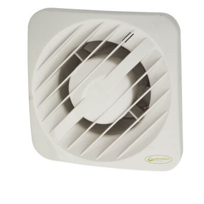 Greenwood Airvac AXS100TR 4 Inch Axial Extractor Fan with Timer)
