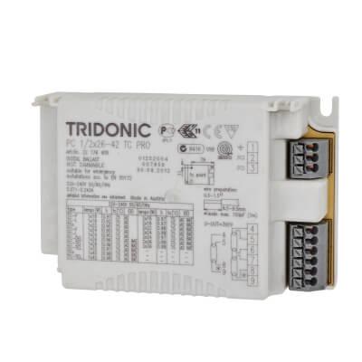 Tridonic 1/2 x 26W Ballast)