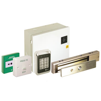 Deedlock Standalone Access Control Kit, Keypad with Electromagnetic Lock)